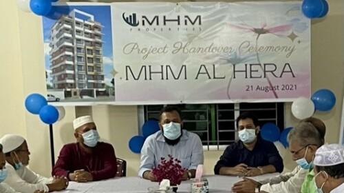 MHM AL Hera Handover Ceremony
