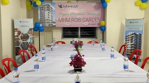 MHM Rois Garden Handover Ceremony